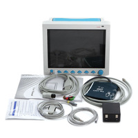 Free Shipping CE&FDA 12.1 ICU/CCU Multi Parameter Vital Signs Patient Monitor CONTEC CMS8000