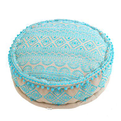 Bohemian Embroidery Stool
