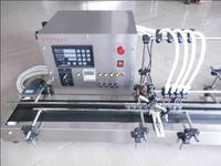 4 heads full automatic liquid filling machine 10-300ml STAINLESS