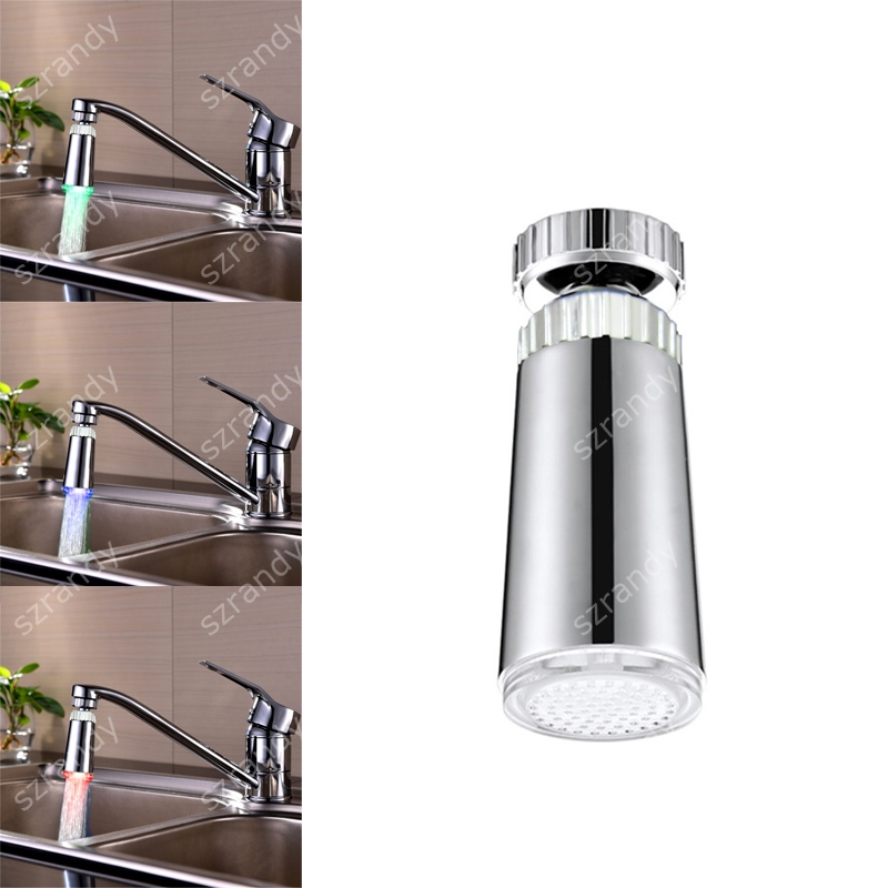 Home Improvement Shower Heads Colorful Led Change Shower Head Bathroom Water Glow Light Filter Hand Shower New Arrival Dropshipping Drop Shipping New Highly Polished