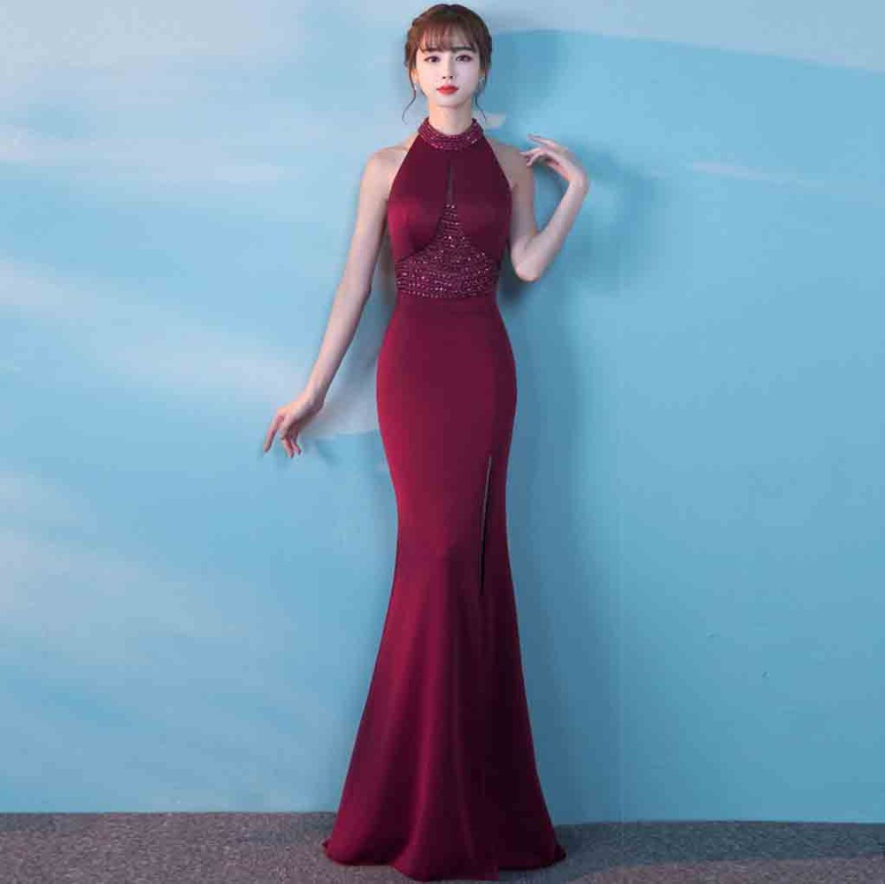 2017 Formal Dresses Women Plus Size Bodycon Winter Vintage Evening ...