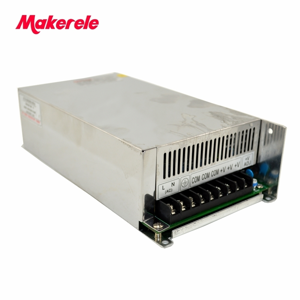 600W 27v ac dc converter Input 220VAC variable dc voltage regulator S-600-27 led power supply switching