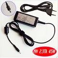 Para asus zenbook ux21 ux21e ux21e-dh52 ux21e-dh71 laptop cargador de batería/adaptador de ca de 19 v 2.37a 45 w