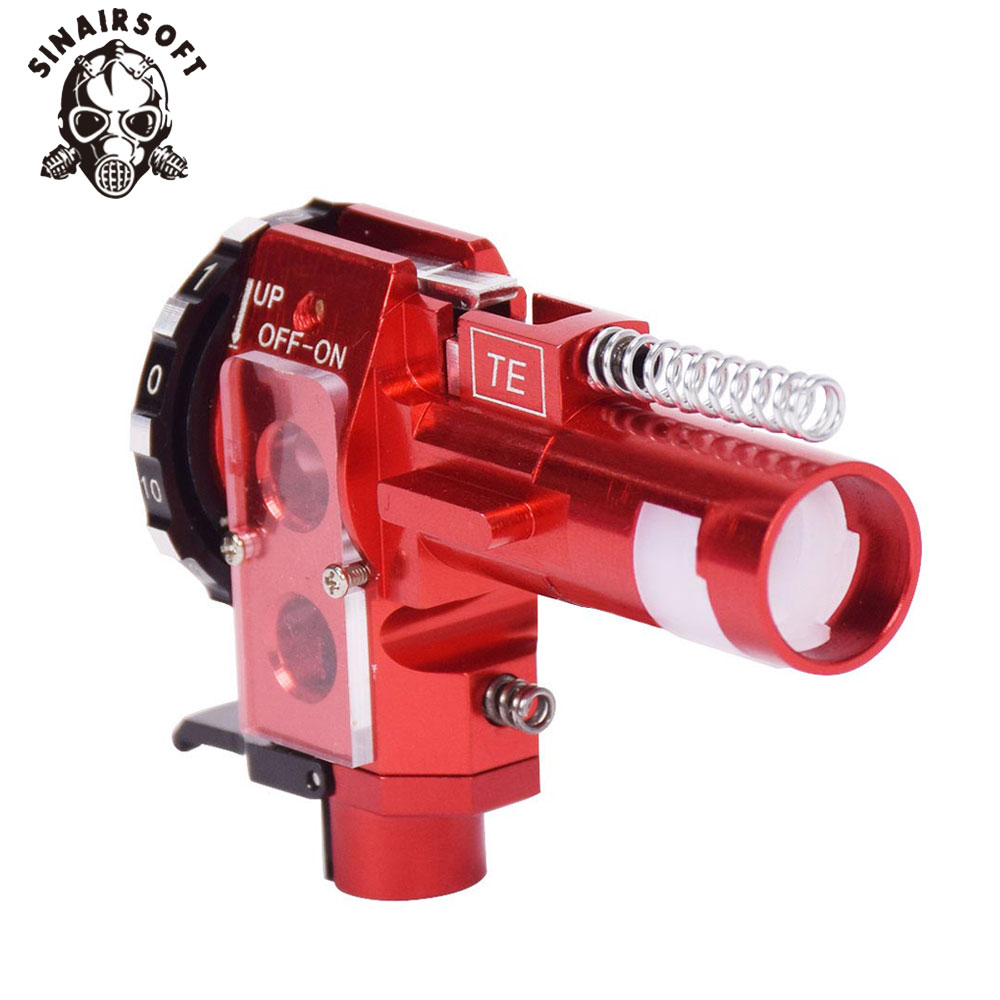 Tactical High Precision PRO AEG CNC Aluminum Red Hop Up Chamber For M4 M16 Airsoft Hunting Accessories Paintball Target Shooting-3