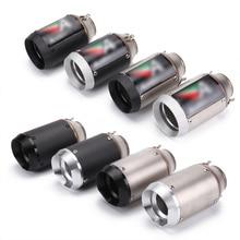 38-51mm Motorcycle Short Exhaust Muffler Pipe Silencer System Modified For GSXR600 K6K7k8 Yamaha R6 S1000RR Honda CBR1000