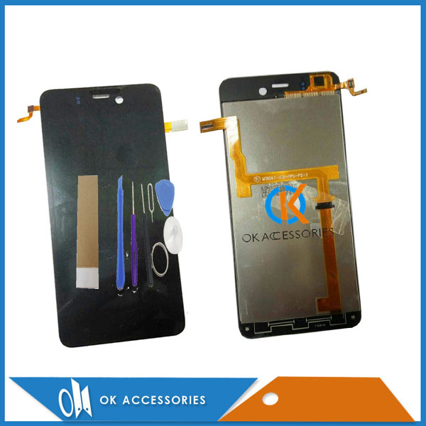 Best Quality For Highscreen Alpha Ice For Highscreen Ice LCD Display+Touch Screen Digtizer Assembly With Tools Tape 1PC/Lot