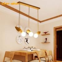 Nordic modern Solid wood pendant lights creative wood vintage lighting hang lamp dining room kitchen restaurant decoration