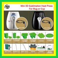 TJ низкая цена мини многофункциональный 3D кружка сублимации/чашки тепла Пресс машины mt 1520
