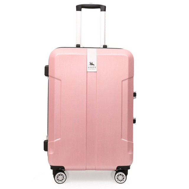 Top Quality Trolley Aluminum frame Luggage bags Storage Box Suitcase Bag Men Travel Large Capacity PC Pull Rod trunk Women