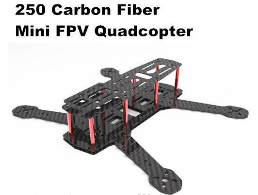 mystery 250 carbon fiber mini 250 fpv quadcopter frame