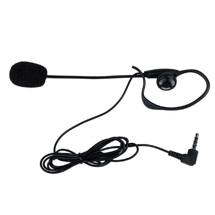 Sccoer Refree Intercom Headset Accessories Mic Speaker ONLY Suitable for V6V4V4CV6C Intercom Bluetooth Interphone 3.5mm Plug (4)