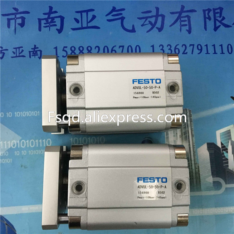 ADVUL-50-50-P-A FESTO Thin cylinder air cylinder pneumatic component air tools cxsm10 10 cxsm10 20 cxsm10 25 smc dual rod cylinder basic type pneumatic component air tools cxsm series lots of stock