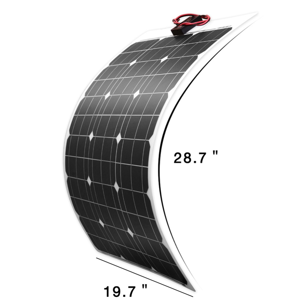 Dokio 18V 50w Solar Panel Flexible Foldble Solar Sets Kits Charge Outdoor Solar Panels For camping/Boats/Home For car 12V chargeDokio 18V 50w Solar Panel Flexible Foldble Solar Sets Kits Charge Outdoor Solar Panels For camping/Boats/Home For car 12V charge