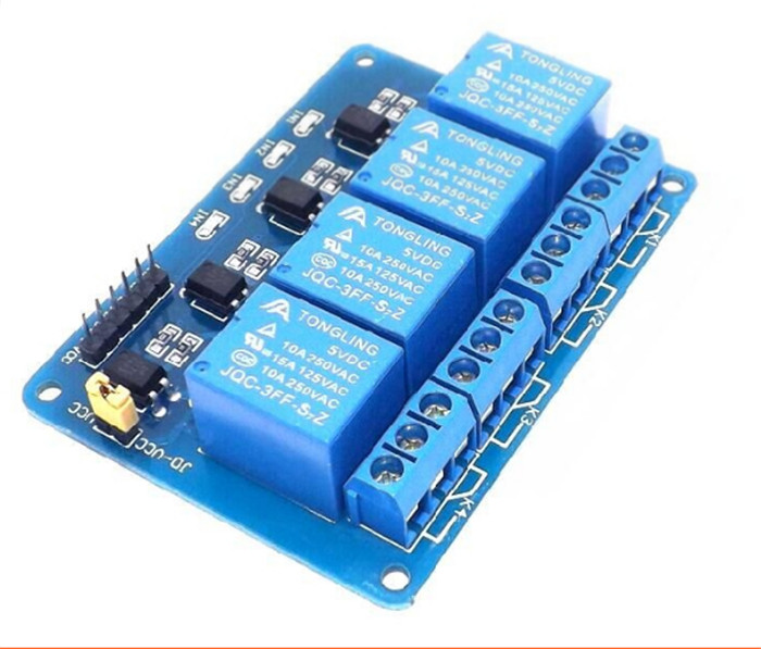 5pcs5V 4 Channel Relay Module Shield for Arduino ARM PIC AVR DSP Electronic 5V 4 Channel