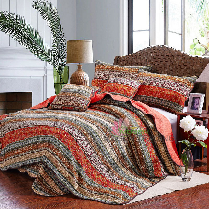 Popular Quilted Bedspreads King Size Bed-Buy Cheap Quilted ...