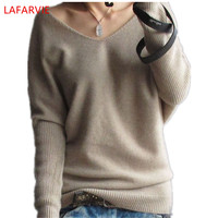 Free Shipping Female Cashmere Sweater Pure Cashmere Sweater Casual Camel V Neck Short Design Basic Knitted