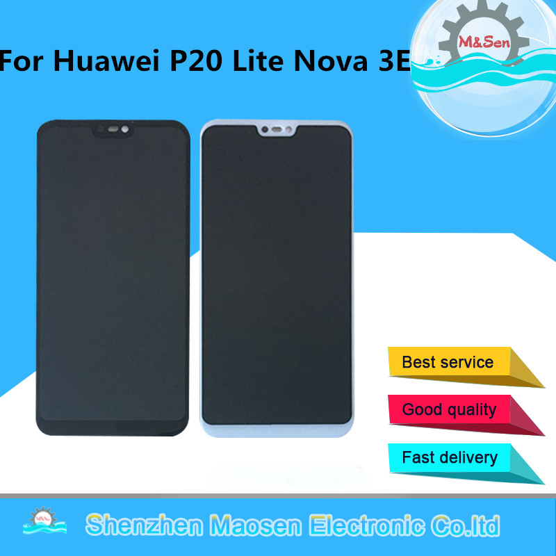 Original M&Sen For 5.84 Huawei P20 Lite Nova 3E LCD Screen Display+Touch Panel Digitizer For Huawei P20 Lite Nova 3E AssemblyOriginal M&Sen For 5.84 Huawei P20 Lite Nova 3E LCD Screen Display+Touch Panel Digitizer For Huawei P20 Lite Nova 3E Assembly