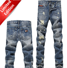 2015 New Arrivals Hot Men Jeans / Fashion Of High Quality Dark Color Skinny Denim Straight Jeans Overalls
