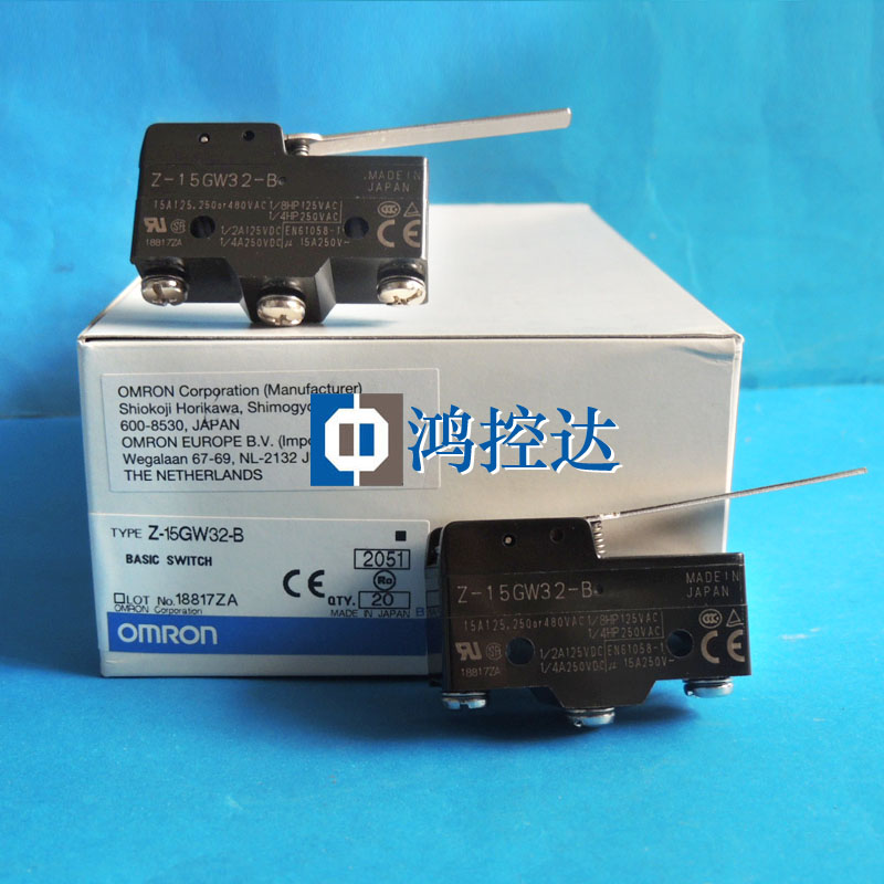 Special offer new original OMRON micro switch Z-15GW32-BSpecial offer new original OMRON micro switch Z-15GW32-B