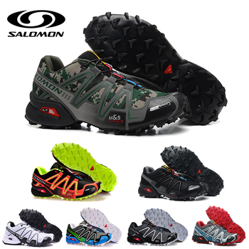 Salomon Speed Cross 3 CS mens running shoes Brand Sneakers Male Athletic Sport Shoes SPEED Fencing Shoes salomon shoes running shoe