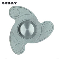 OCDAY Fidget Spinner Hand Spinner EDC Finger Spinners Anxiety Stress Relief Toys Adults Kid Metal Fingertip