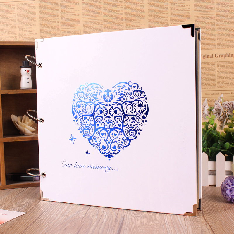 new 28 28 cm diy 10 style photo album 10 pages paper big photo albums scrapbook for baby family. Black Bedroom Furniture Sets. Home Design Ideas