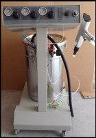 Elektrostatik toz boyama makinesi KCI-801 Elektrostatik sprey toz kaplama Makinesi Püskürtme Tabancası Boya AC 110v 220v