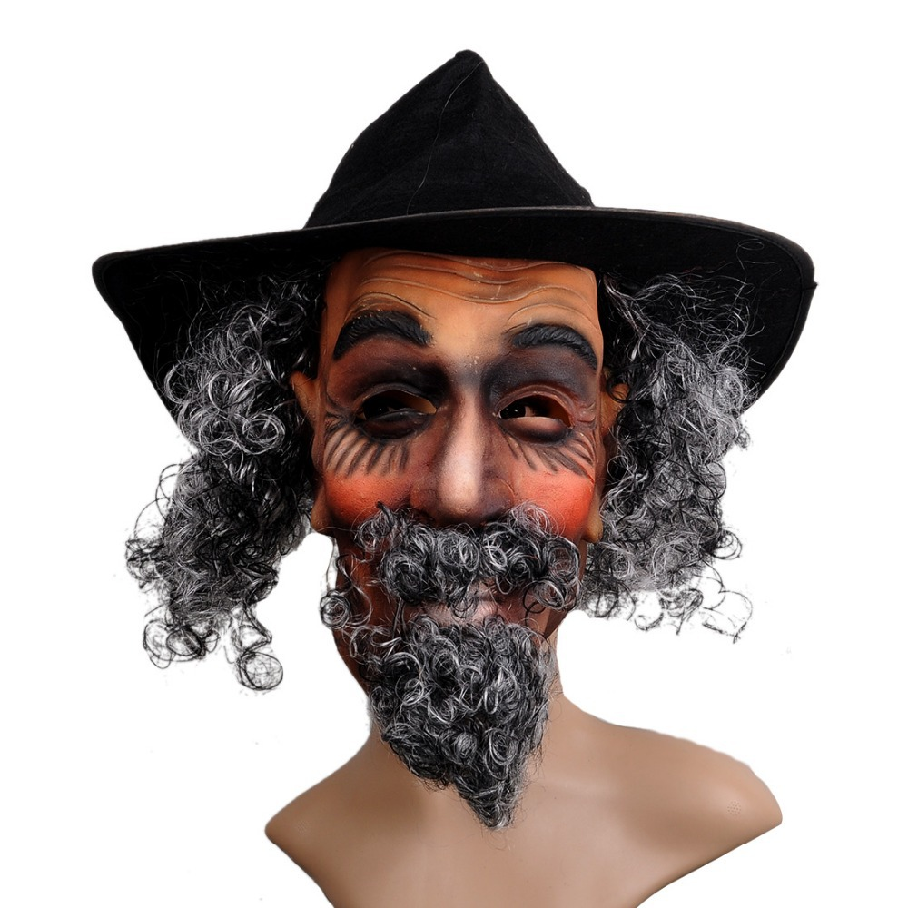 Aliexpress.com : Buy Old Man Silicone Dress Up Mask Prank Props ...
