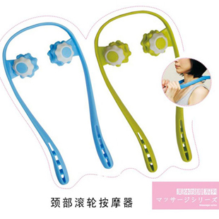 Dahoc neck massager double roller easy control manual Shiats