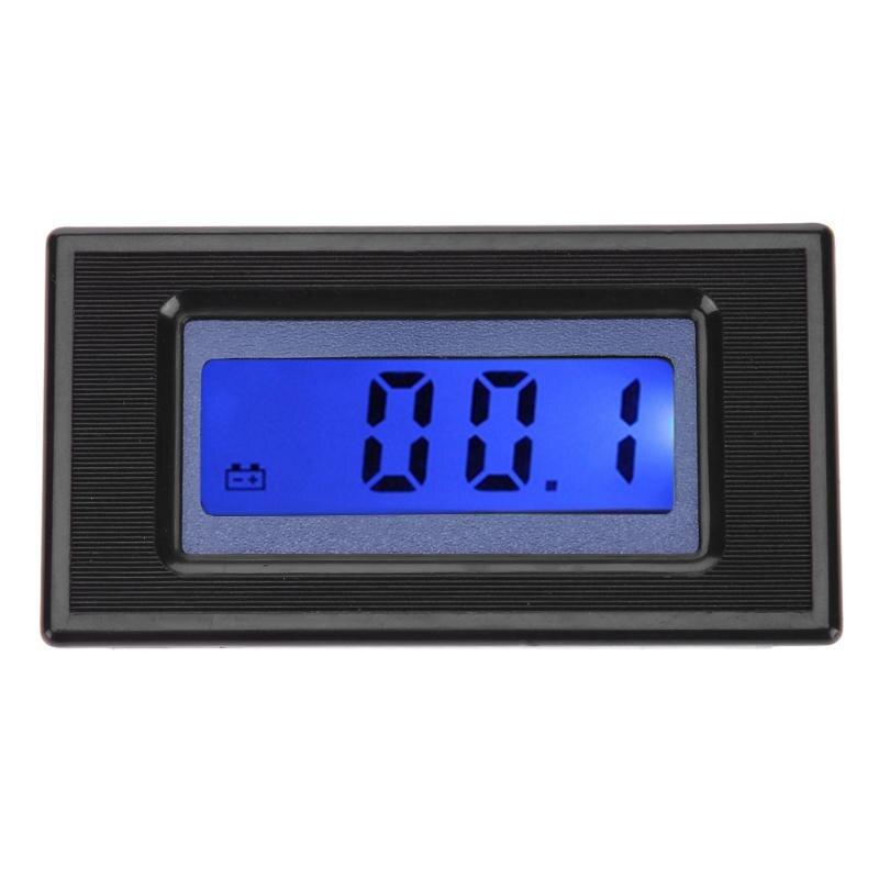 220V Digital Panel Voltage Meter Tester 3 inch LCD Backlight Voltmeter Voltage Meter Multimeter Digital Voltmeter