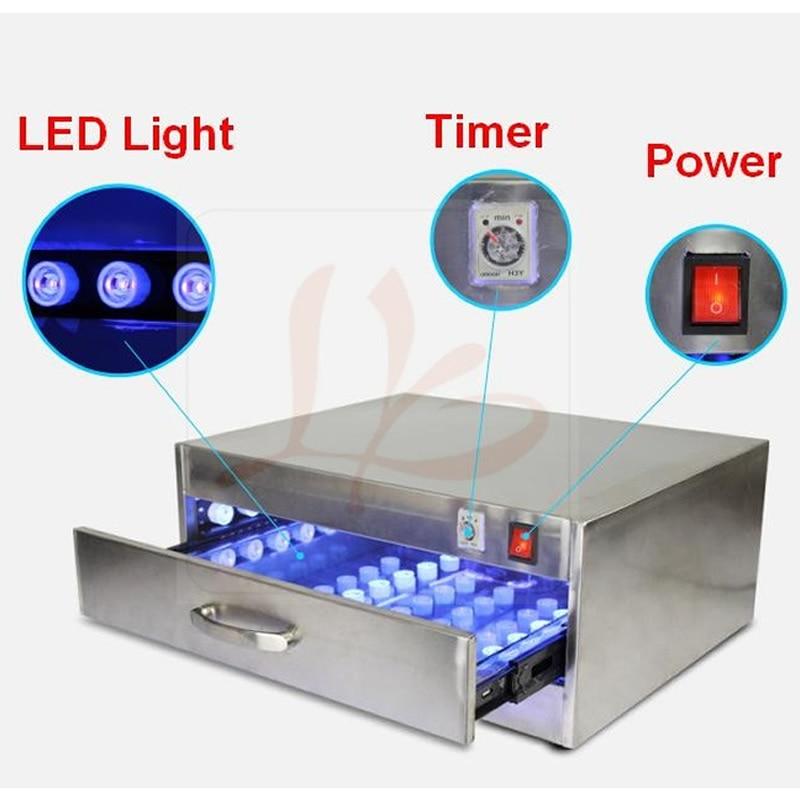 118W LED UV Curing Box UV Lamp Curing Oven UV Glue Dryer for LCD screen refurbishment 946d screen separator with accessories uv glue uv lamp moulds etc glue remove machine