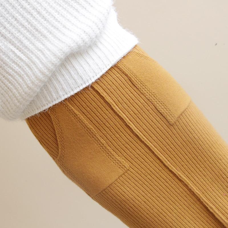 Larga Bolsillos Mediados La Recto marrón Gratis Oscuro Otoño amarillo Cálido Faldas Las Invierno Falda Envío Nueva 2019 Elástico Moda Beige negro gris Damas becerro Mujeres Cintura De De XORnqIf