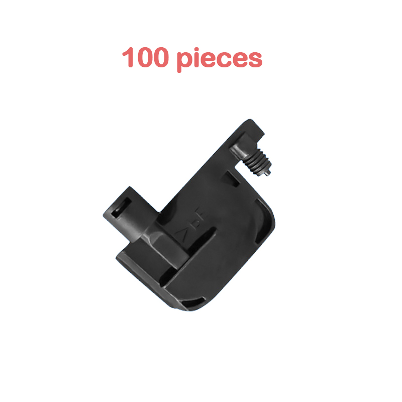 100x black dx4 dx5 printer print head ink damper small filter 2-3mm single row Round mouth for roland mutoh printers damper DX5 10pcs for epson dx5 uv printer ink damper for epson stylus proll 4000 4800 7400 7800 9800 9400 9450 flat printer uv ink damper