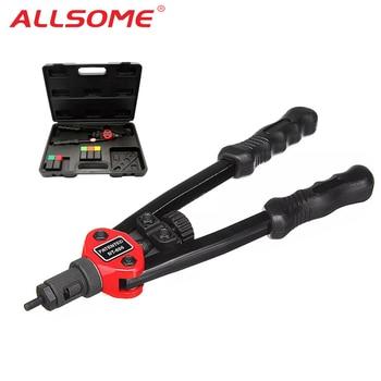 ALLSOME BT-605 Gun Auto Rivet Tool Blind Rivet Nut Gun Heavy Hand INSER NUT Tool Manual Mandrels M3 M4 M5 M6 M8 M10 BT-606