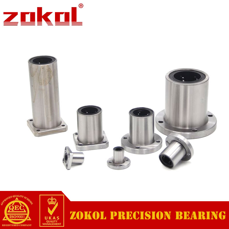 ZOKOL bearing LMF60UU Round flange linear motion bearing 60*90*110mm цена
