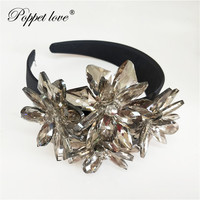Top Quality Royal Sparkling Zircon Brides Tiaras Crown Silver Crystal Flower Bridal Hairbands Headpiece Wedding Hair Accessorie