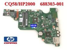 Оптовая материнская плата ноутбука 688303-501 для HP 2000 Compaq CQ58 688303-001 Notebook PC systemboard 100% Тестирование Гарантированность 90 Дней