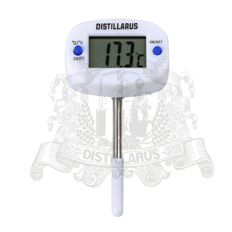 Short Type LCD Display Digital Probe Temperature Sensor length 50mm ds18b20 fixed m10 thread temperature sensor probe length 50mm waterproof type