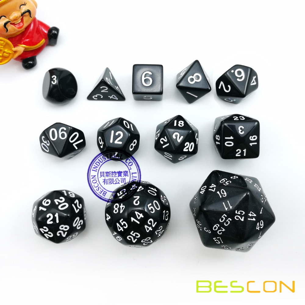 10pcs Purple Polyhedral Dices D4-D30 for   DND RPG MTG Kit