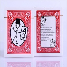 Free Shipping Card-toon Cartoon Magic Cards Magia Deck Pack Playing Card Tricks Close Up Street Puzzle Toys