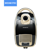 MEWEPRO 2400w HEPA Filter Golden Canister Russia Vacuum Cleaner Durable Aspiradora For Home Stofzuiger VC 809W