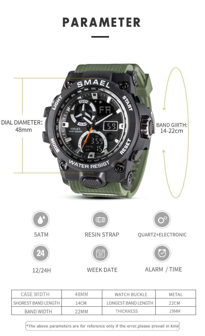 2.sport watches for men