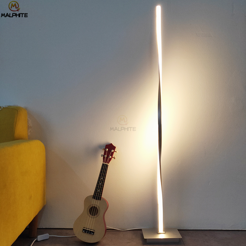 Nordic Living Room Stand Light Modern Standing Lamp Vloerlamp Floor Lamps for Bedroom Long Lamp Home Decor Lighting LuminairesNordic Living Room Stand Light Modern Standing Lamp Vloerlamp Floor Lamps for Bedroom Long Lamp Home Decor Lighting Luminaires