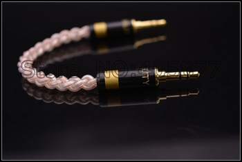 Hi-End 28awg 16cores OCC 3.5MM Stereo Cable 3.5MM to 3.5MM cable gold plated plug aux hifi cable