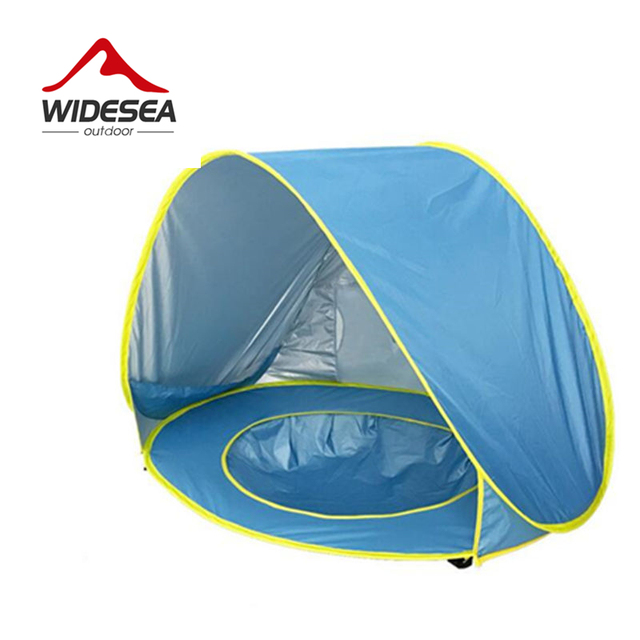 Widesea Baby beach tent uv-protecting sunshelter with a pool waterproof pop up awning tent  sc 1 st  AliExpress.com & Widesea Baby beach tent uv protecting sunshelter with a pool ...