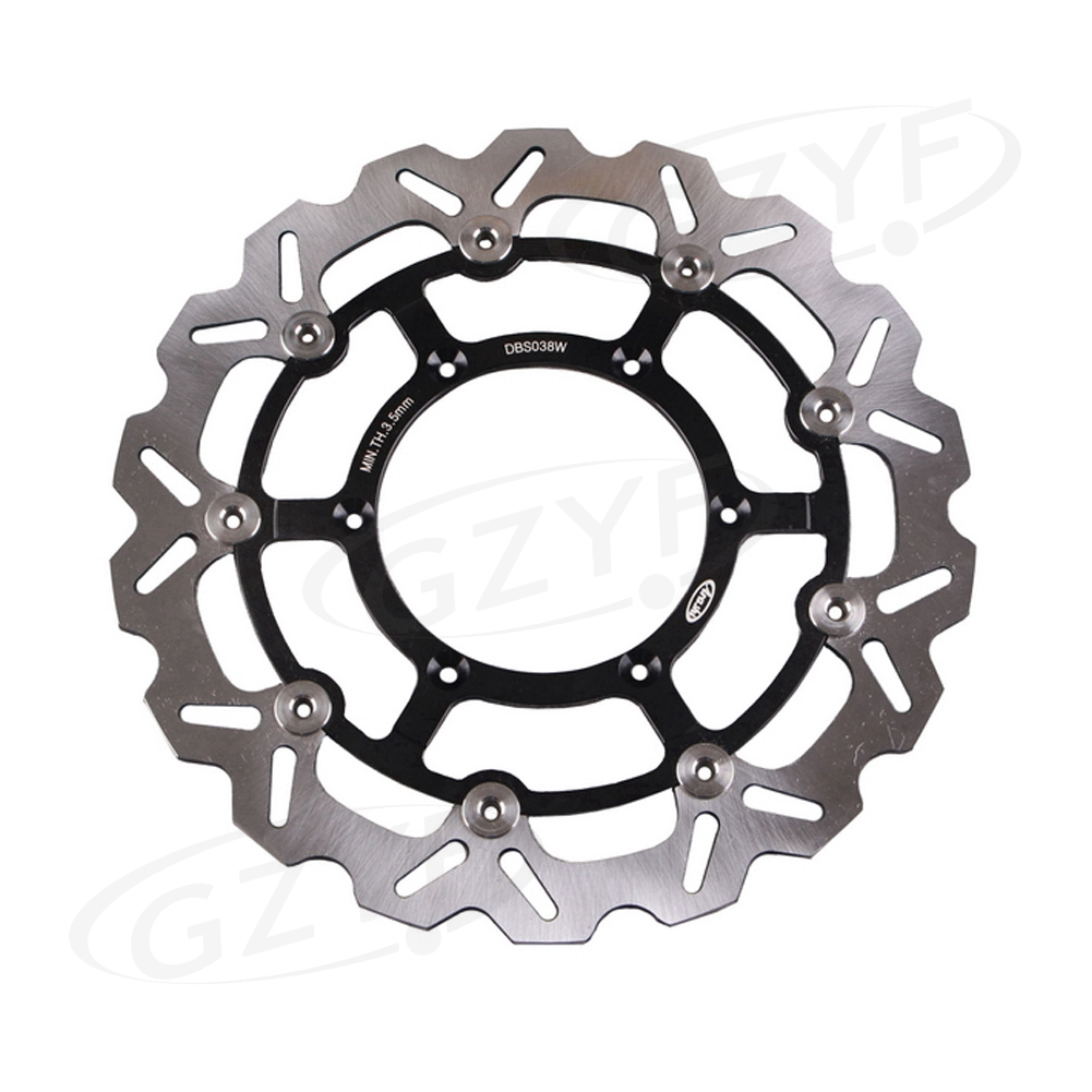 For Suzuki DRZ 400 SM DRZ400SM DRZ400 2005-2009 Motorcycle Front Brake Disc Rotor Black 1Piece motorcycle front brake disc rotors for suzuki drz400 2005 2011 universel