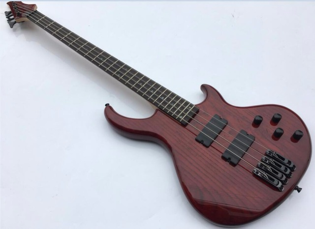 high grade 4 String Bass Guitar free shipping-in Guitar from Sports ...