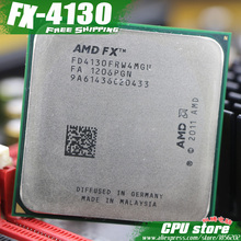 AMD FX 4130 AM3+ 3.8GHz/4MB/125W Quad Core CPU processor FX serial pieces FX-4130 (working 100% Free Shipping) sell fx 4130 4200