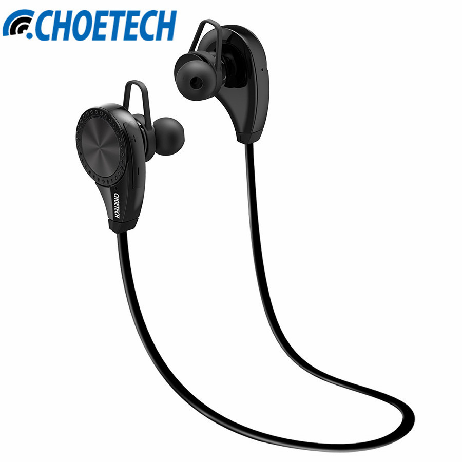 Bluetooth 4 0 Headset Headphone CHOETECH Wireless Earphone Sports headphone With Mic For iPhone 7 Plus