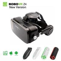 Originale Bobovr z4 vr headset 3d virtual reality glasses VR goggles Gear Bobo Z4 mini 3D vr box for 4.7 6.2 inch Smartphone 2.0